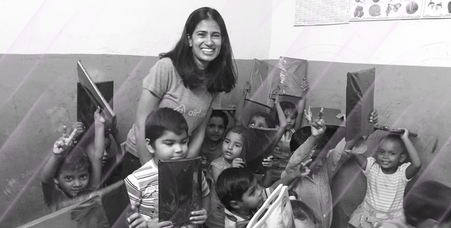 Varsha Rao Supporting the Community