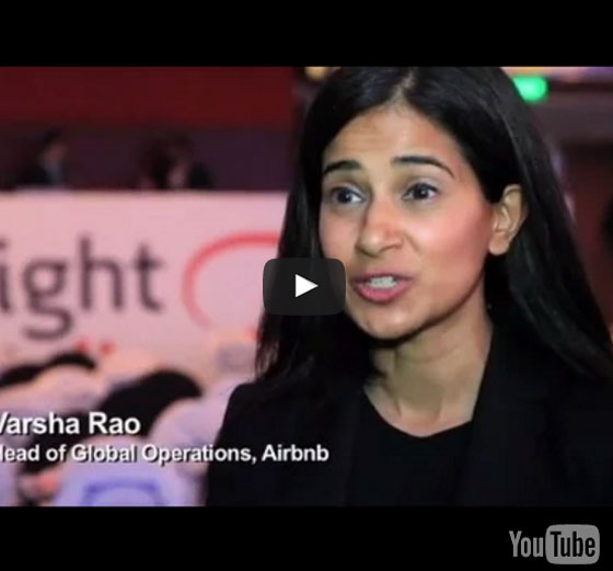 Varsha Rao, Head of Global Operations, Airbnb - Phocuswright India 2016