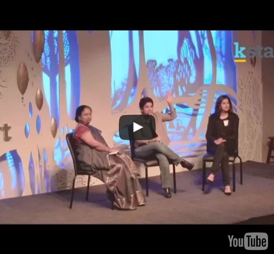 Startup Girls : Lakshmi Pratury in conversation with Varsha Rao and Kirthiga Reddy